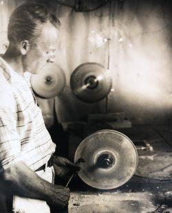 Roy Buchanan, Gem Cutter by Bayard Wootten