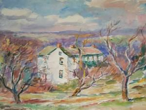 Bucks County Farmhouse by Sarah Blakeslee