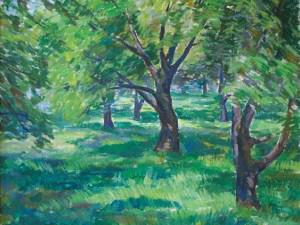 Green Orchard, Chester Springs, PA by Sarah Blakeslee