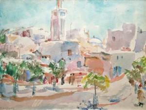 Morocco (Tetuan) by Sarah Blakeslee