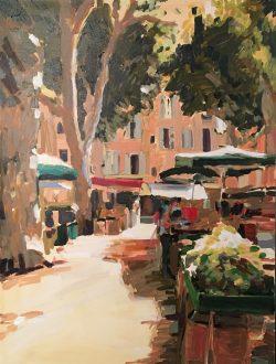 The Street Market by Laura Lacambra Shubert