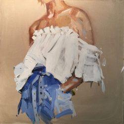Female Figure in Blue by Laura Lacambra Shubert
