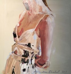 Femaile Figure in White by Laura Lacambra Shubert