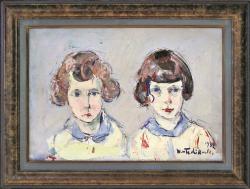 Sisters by Wladimir de (Wlodzimierz)  Terlikowski
