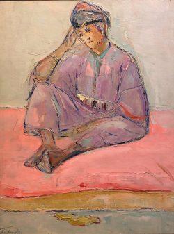 Figure Marocain Assise by Wladimir de (Wlodzimierz)  Terlikowski
