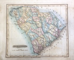 South Carolina Map by Lucas Fielding Jr.