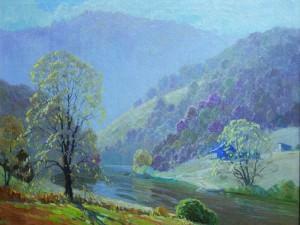 Tennessee Landscape  by John Adams Spelman (1880-1941)