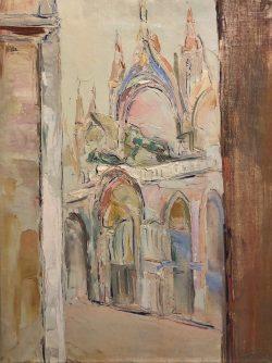 Place Saint-Marc, Venise by Wladimir de (Wlodzimierz)  Terlikowski