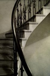 Staircase to the Third Floor State Capitol by Watson  Brown