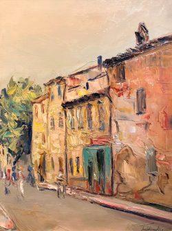 Rue en Provence by Wladimir de Terlikowski