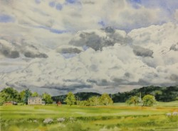 Summer Sky, Greenspring Valley by William C. Wright