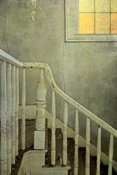 Sunset on the Old Plantation Staircase by Watson  Brown