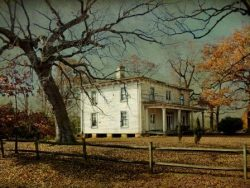 The Old Mitchell Place in Late Fall by Watson  Brown