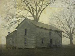 The Old Tobacco Packhouse in the Fog by Watson  Brown