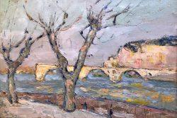 Le Pont D'Avignon by Wladimir de Terlikowski