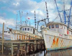 The Shrimp Boat Graveyard by Watson  Brown