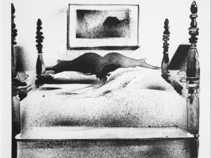 The Bed  by Maude Gatewood (1934-2004)