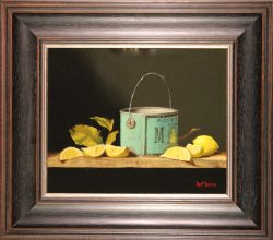 Tin Can and Lemons by Bert Beirne