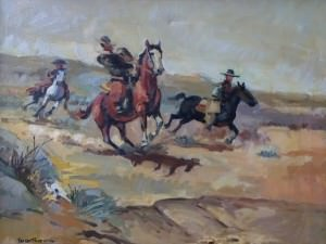 Rawhides and Rodeo Queens: The Art of The Wild West