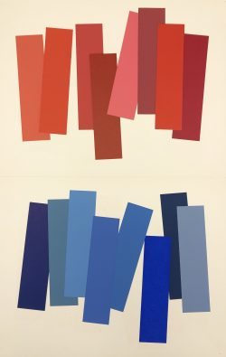 V-3 by Josef Albers (1888-1976)