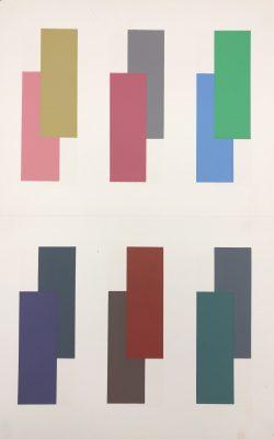 V-4 by Josef Albers (1888-1976)