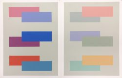V-5 by Josef Albers (1888-1976)