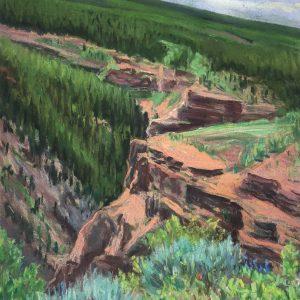 The Art of Travel: Pastel Paintings from the Estate of Elsie Dinsmore Popkin