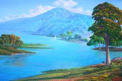 Lac Azuei by Jean Adrien Seide