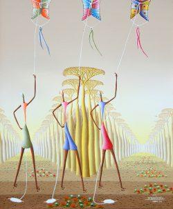 Les Cerfsvolants by Rebert Damour