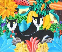 Panthere & Fruit by Emmanuel Joseph