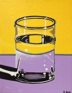 Water Glass III by Robert Box