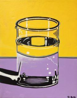 Water Glass III by Robert Box