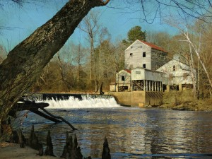 Webb's Mill on the Tar River by Watson Brown