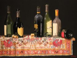 Wine Bottles by Bert Beirne