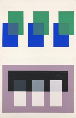 XI-2 by Josef Albers (1888-1976)