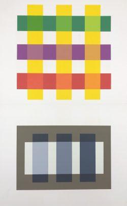 XI-3 by Josef Albers (1888-1976)