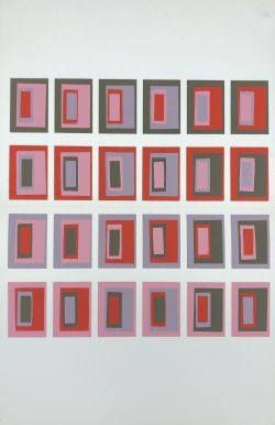 XVI-2 by Josef Albers (1888-1976)