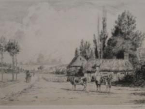 Dans la Vallee de l'Eure by George Aid