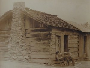 Cabin At Norris Dam, TN by Bayard Wootten