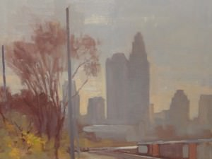 City View From 16th Street by Tony Griffin