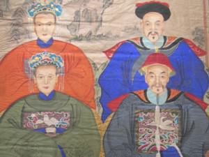 Chinese Officials and Their Wives