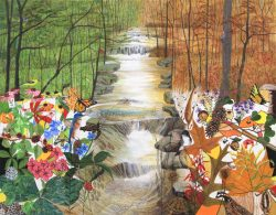 Creek- Summer/Fall by Trena McNabb