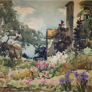 Oils and Watercolors from the Estate of Harry DeMaine (1880-1952)