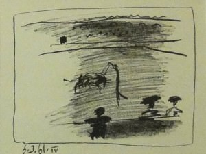 Les Banderilles by Pablo Picasso
