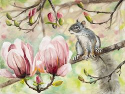 Up In The Tulip Tree I by Lee Mims