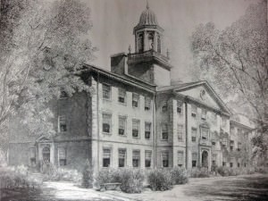 Waite Hall, Wake Forest by Louis Orr