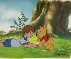 Winnie The Pooh and Christopher Robin by Walt Disney Studios