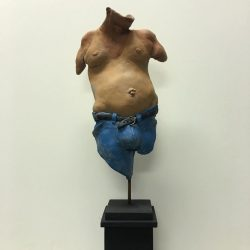 Red Neck Torso (Could Be Northern) by Campbell Paxton