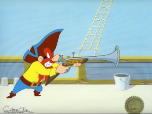 Yosemite Sam by Warner Brothers Studios