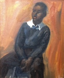 Boy with White Collar by Francis Speight